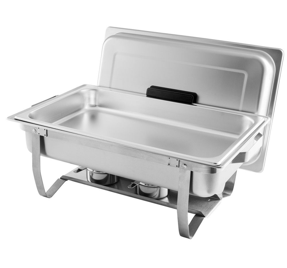 Tigerchef Full Size Stainless Steel Chafing Dish With Folding