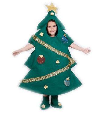 Disfraz arbol de navidad disfraces para cada ocas on - Disfraces para navidad ...