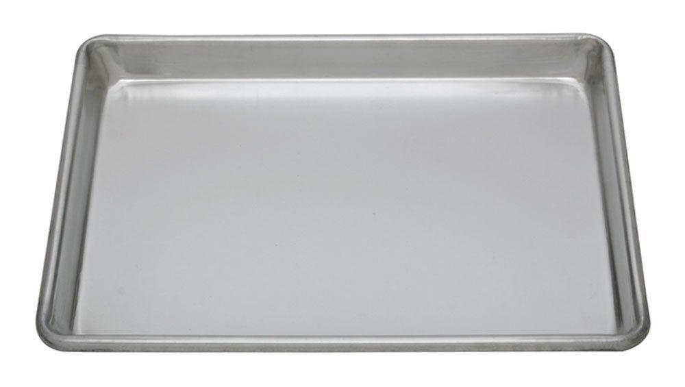 Crestware thick aluminum sheet pan quarter size 9x13