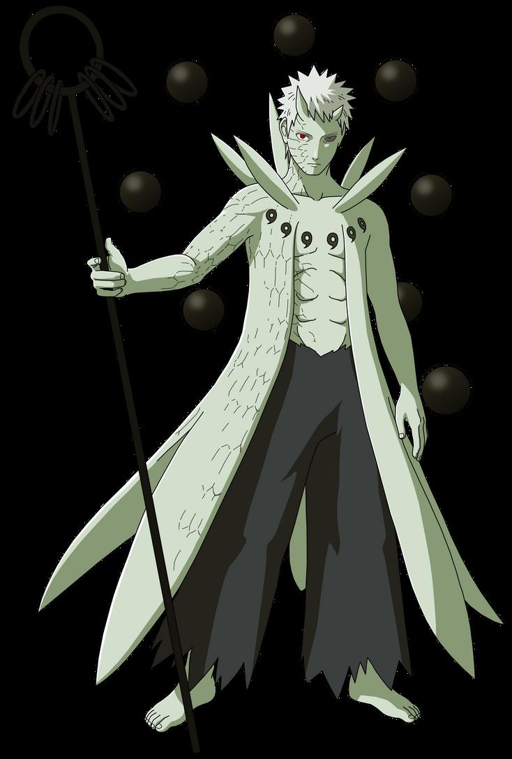 Obito Ten Tails Jinchuriki By Masonengine On Deviantart Naruto Art Naruto Sasuke Sakura Anime Naruto