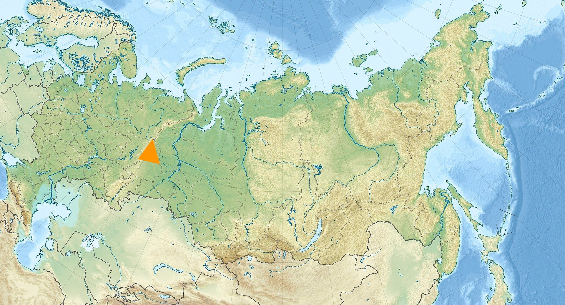 Ural Mountains The Urals Are A Mountain Range That Runs - Ural river on world map