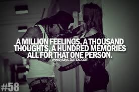 A Million Friends A Thousand Thoughts A Hundred Memories All For