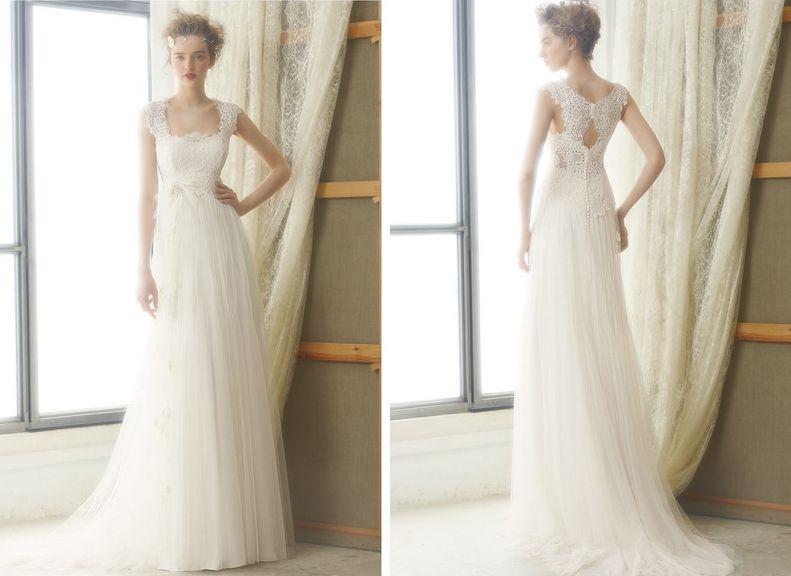 093809f760e Das romantische Brautkleid Leire von Raimon Bundo
