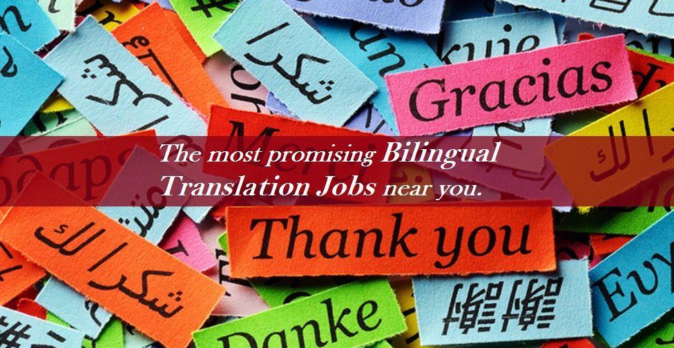 Bilingual Translation Jobs in India Delhi Noida Mumbai