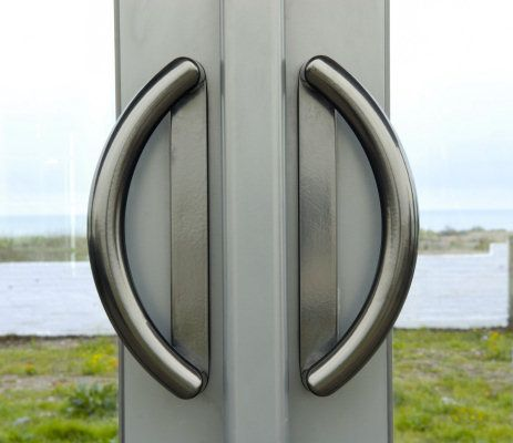 Commercial Door Handles | Solid Handle Option. The Style Of These Handles  Is Slightly Commercial