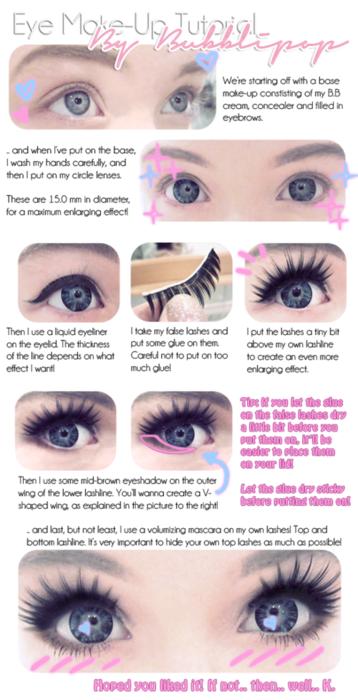 419f172c56a Eye make up tutorial great baby doll halloween look   teens   Doll ...