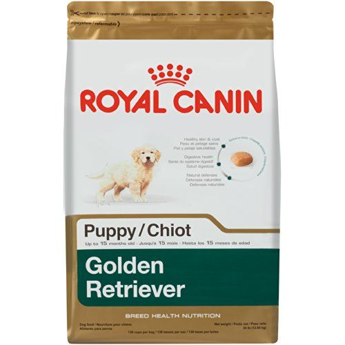 Royal Canin Golden Retriever Puppy Dog Food Dry Dog Food 30 Pound