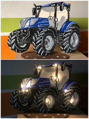 New Holland Schlummerlicht Holzlampe Schlummern Baby Tafel