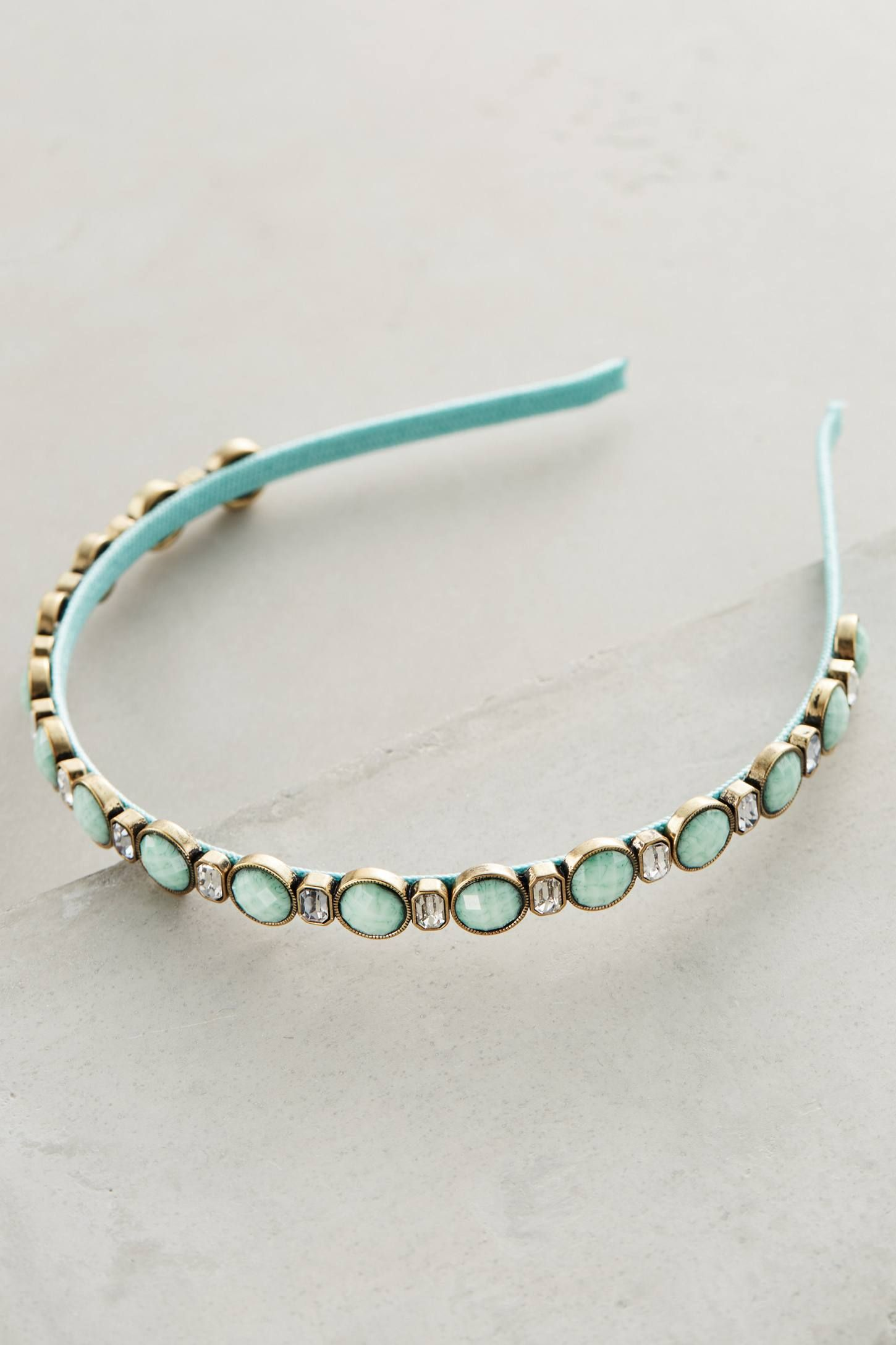 at anthropologie Turquoise Tenet Headband