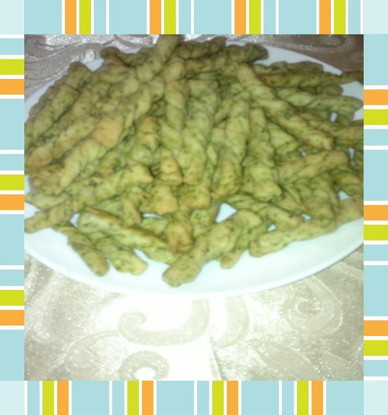 مملحات بالسبانخ مقرمشة لرشيدة مهاوش Arabic Food Recipes Green Beans