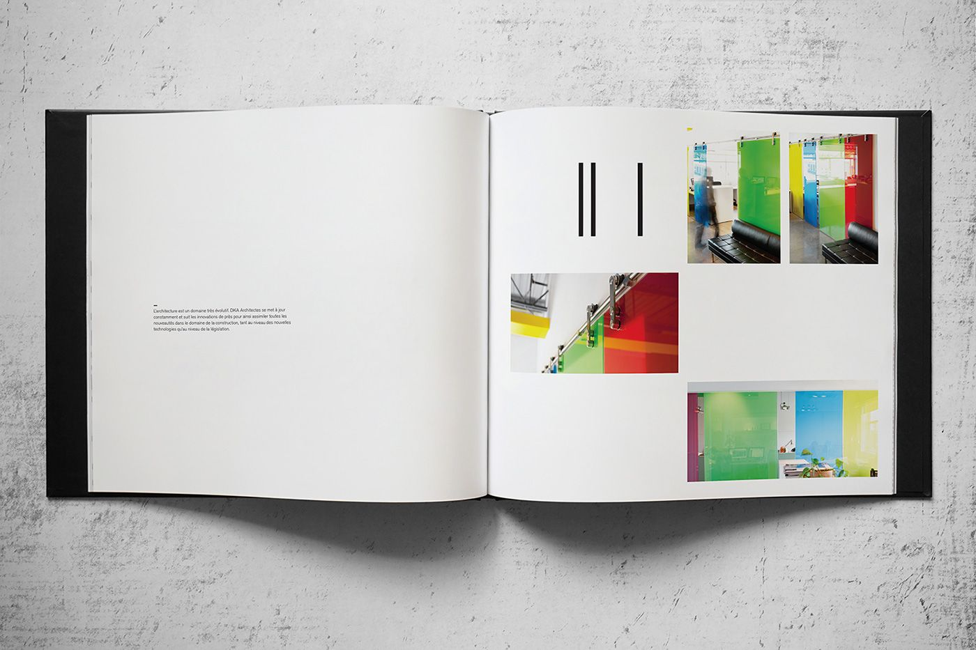 I was asked to design a coffee table book for dka architectes i was asked to design a coffee table book for dka architectes showcasing their worki created a modular grid system allowing me to create 72 unique pages geotapseo Image collections