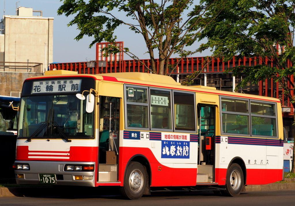 秋北バス 路線バス レトロバス 観光バス