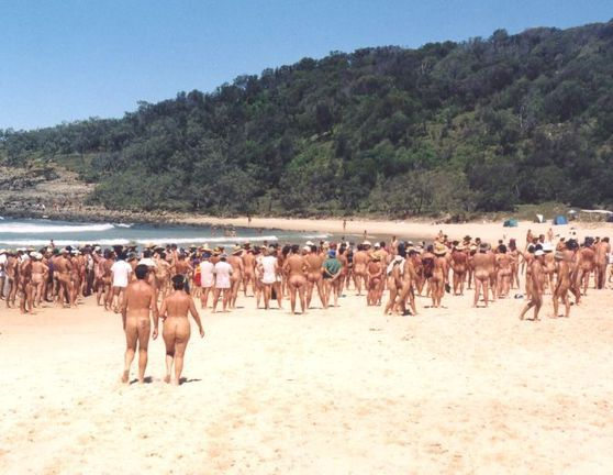 queensland Nudist beach