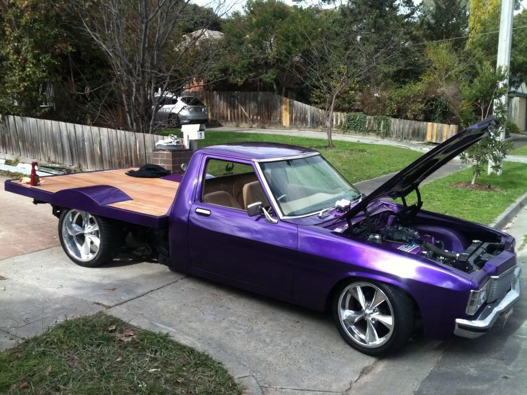 holden 1 tonner custom trays Australian muscle cars
