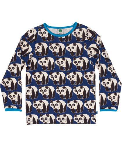Småfolk funny panda printed T-shirt