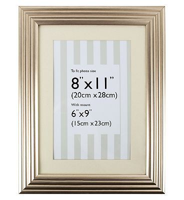 The Frames Company Silver Photo Frame 9x6 10203161 64