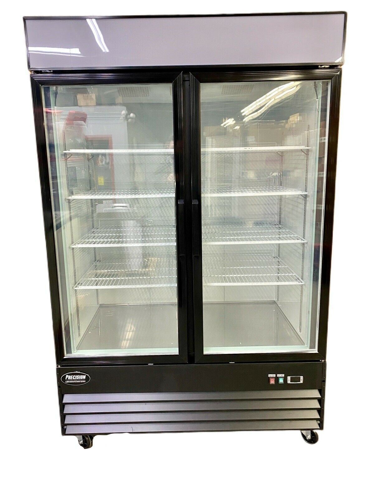 Glass Door Freezer In 2020 Glass Door Glass Double Doors