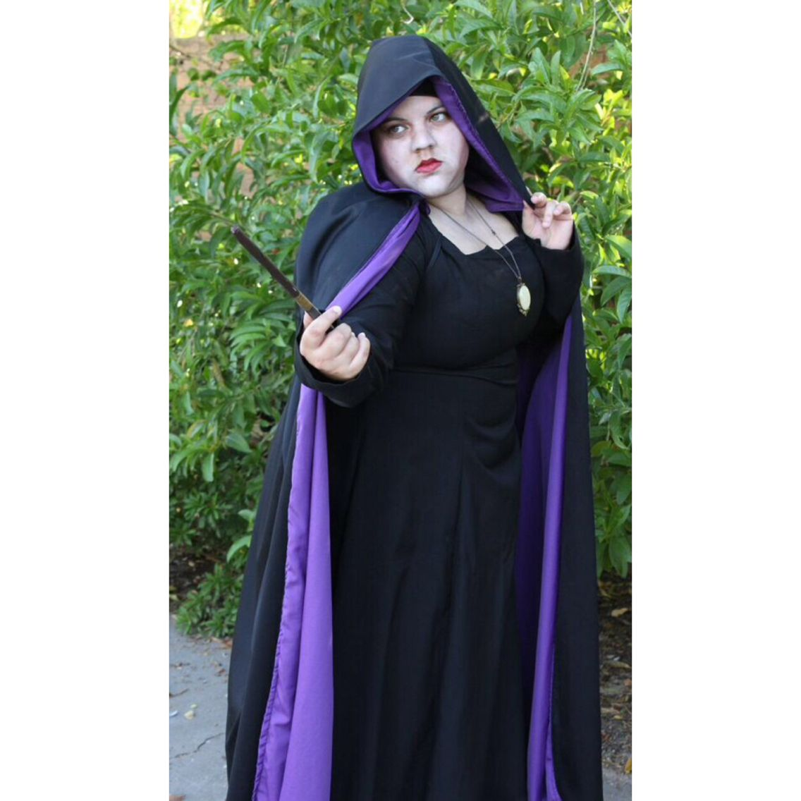 Inspired by Harry Potter- Voldemort in Hooded cloak (Female Version)