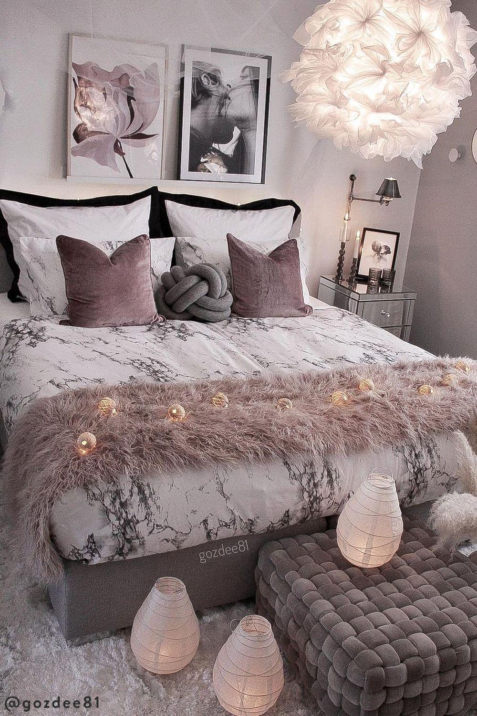 12 astuces pour une décoration de chambre romantique   Westwing en ...