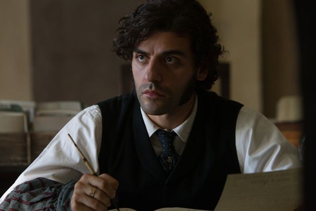 In Secret Starring Elizabeth Olsen Tom Felton And Oscar Isaac At Cinemas May 16 Oscar Isaac Period Drama Men Oscar