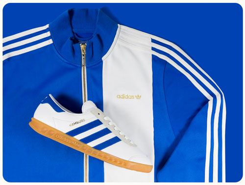 Adidas Hamburg City Series trainers return white and royal blue as a Size? exclusive