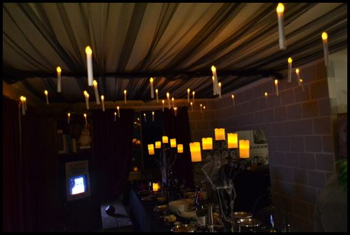 Harry Potter Party Hogwarts Enchanted Ceiling And