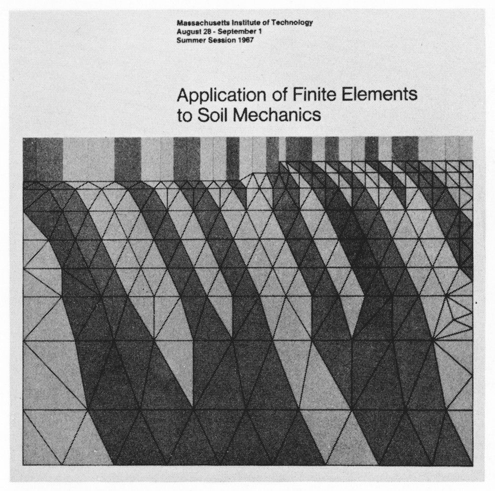 Jacqueline Casey, Application of Finite Elements to Soil Mechanics, MIT, 1967(via AIGA Design Archives)