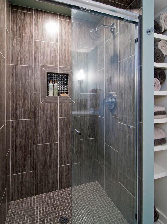 Entzuckende Edelstahl Unterbau Waschbecken Im Badezimmer Dusche