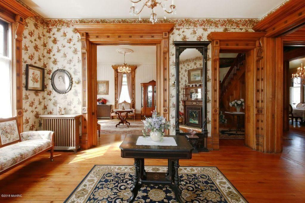 1885 Queen Anne For Sale In Hastings Michigan Victorian Home