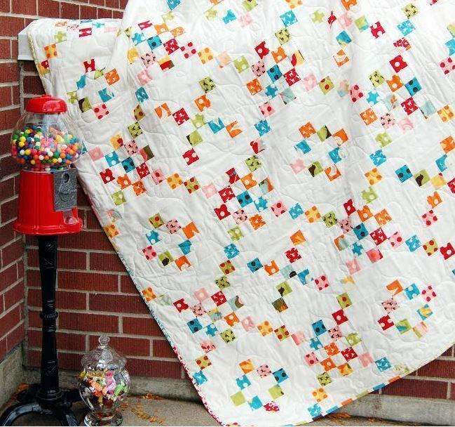 Irish Quilting Designs and Patterns | Irish chain quilt, Patterns ... : irish chain quilt tutorial - Adamdwight.com