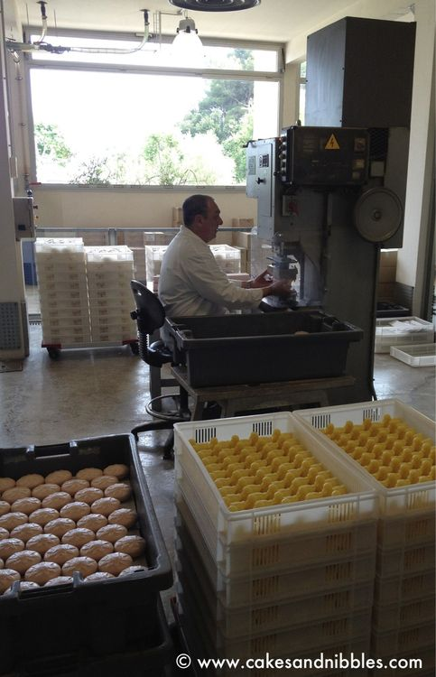 Eze, France - Hand-painted soaps at the Fragonard factory