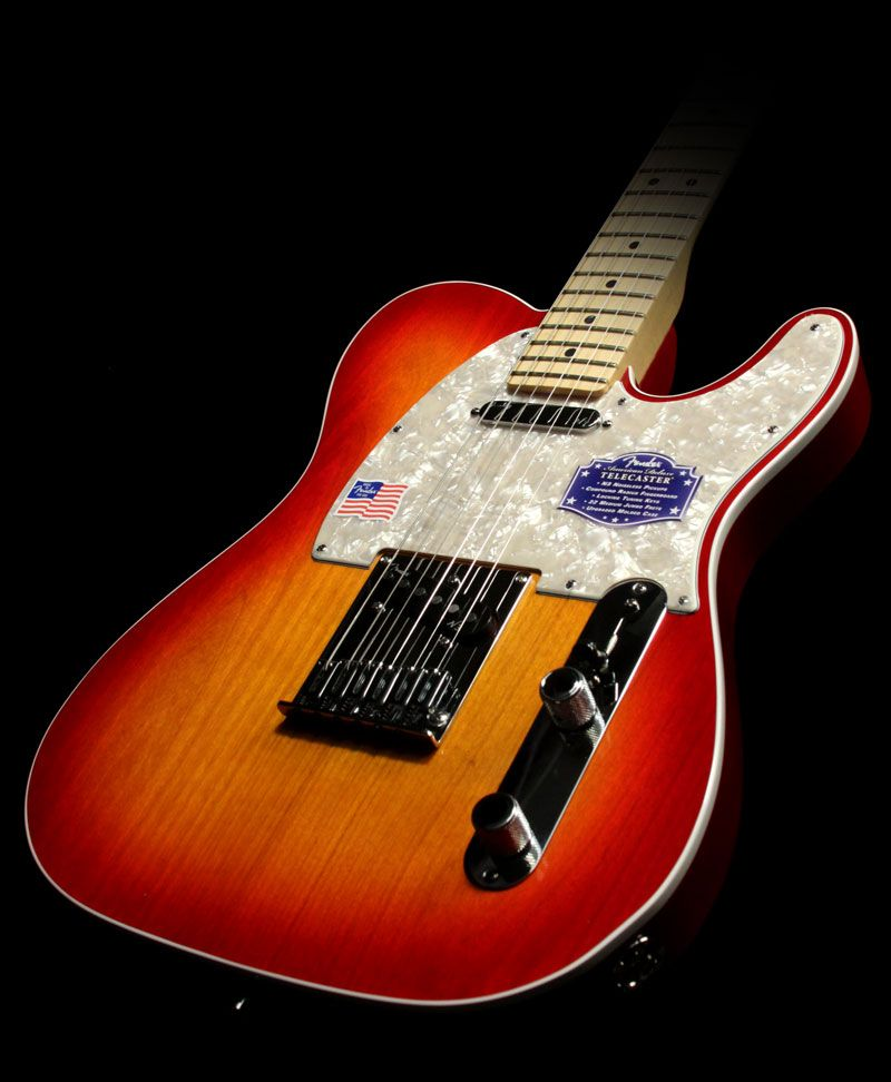Fender American Deluxe Telecaster Electric Guitar Aged ...