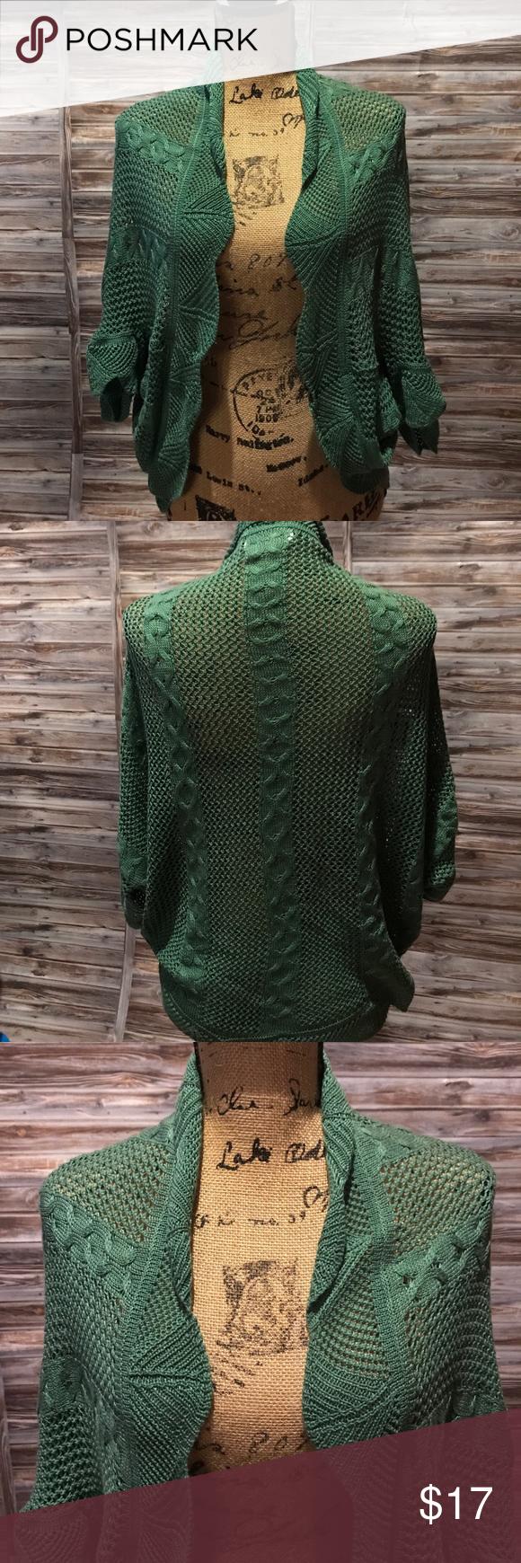 Jon&Anna Shrug Sweater | Shrug sweater, Anna and Ponchos