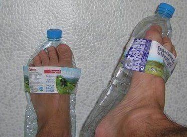 Plastic bottle crafts, Diy sandals