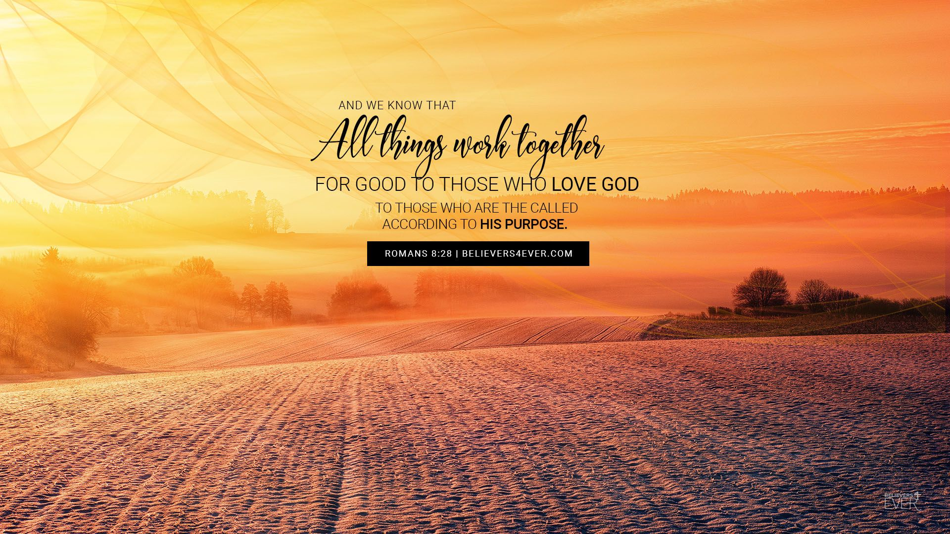 All Things Work Together Believers4ever Com All Things Work Together Bible Quotes Wallpaper Free Christian Wallpaper