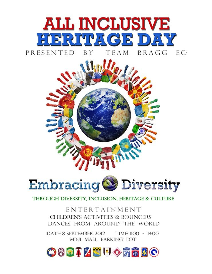 Attend the All Inclusive Heritage Day at Fort Bragg on September 8th | Fay Social