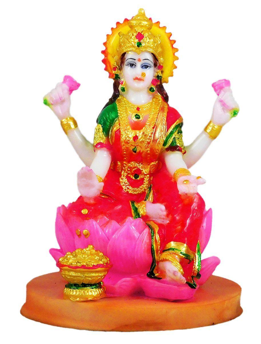 Goddess Lakshmi Stone Dust Statue Goddess Lakshmi