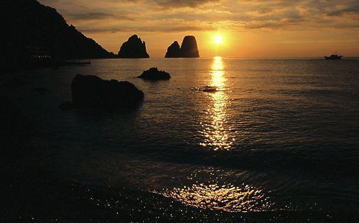 Marina Piccola Capri-the perfect honeymoon destination!