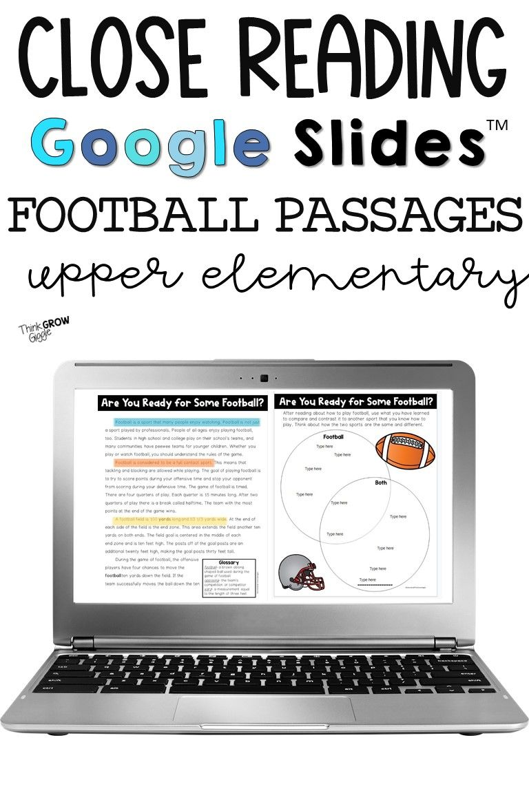 Football Theme Reading Activities Reading Comprehension Skills Reading Comprehension Strategies Reading Passages [ 1152 x 768 Pixel ]