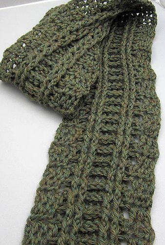Ravelry: Skinny Cabled Scarf pattern by Elisa Purnell   Crochet ...