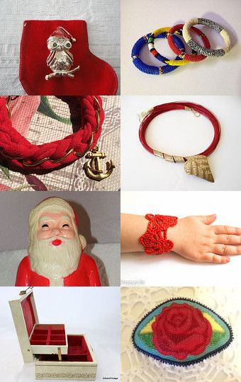 'Tis The Season For Red by Sue on Etsy--Pinned with TreasuryPin.com