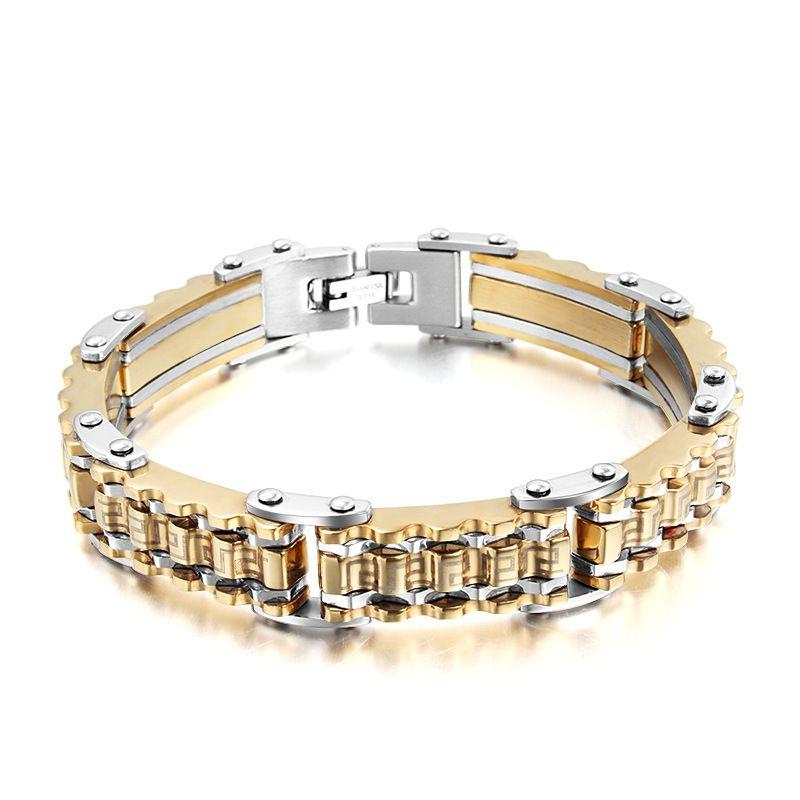 S steel bracelet homme