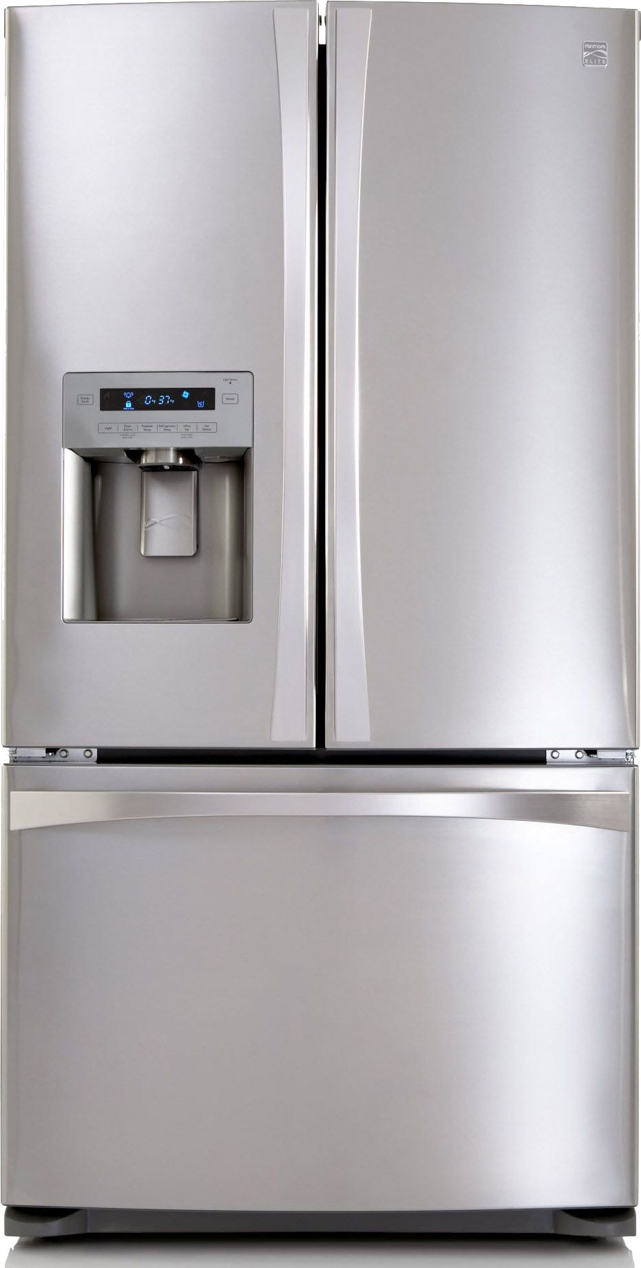 Kenmore Elite French Door Refrigerator: Cool Style and Storage at ...
