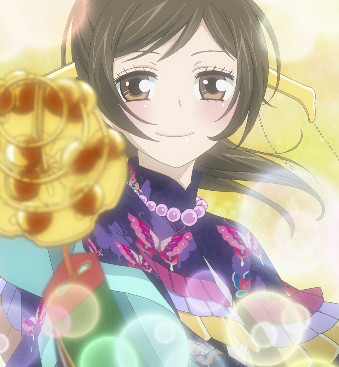 Nanami doing the kagura dance. Anime, Kamisama