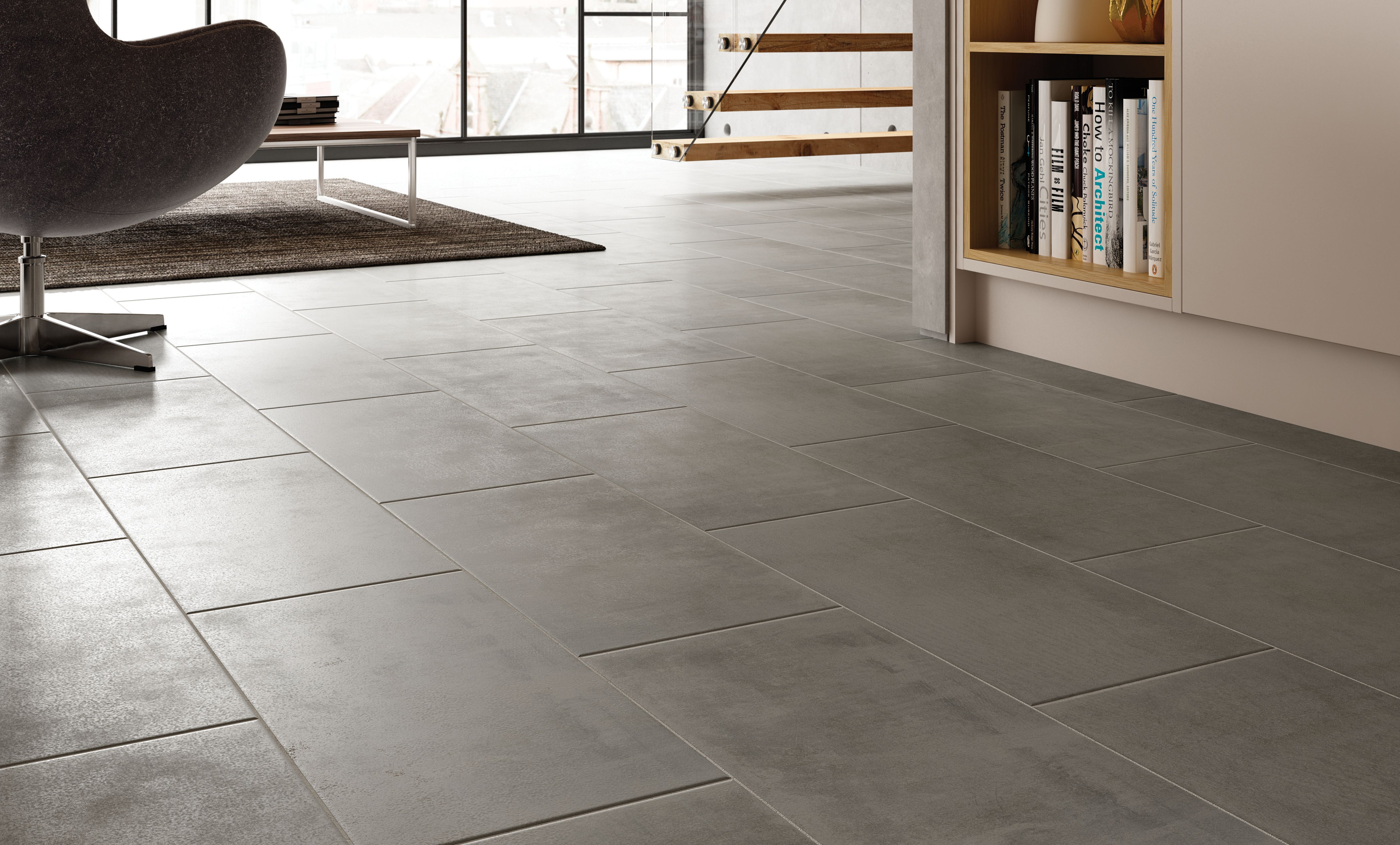 Wickes Manhattan Grey Porcelain Tile 600 X 300mm