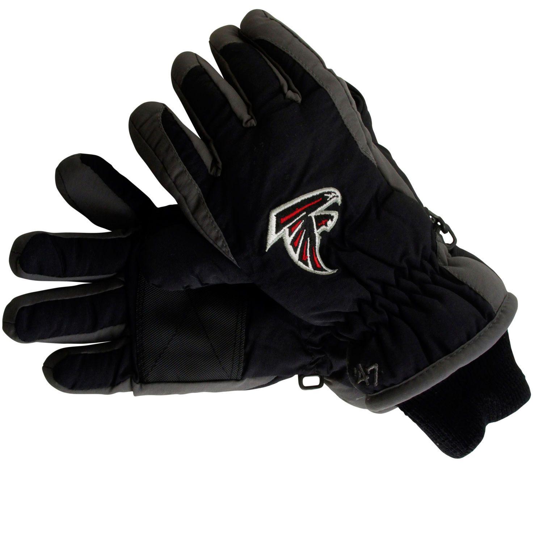 47 Brand Atlanta Falcons Carve Ski Gloves Black Atlanta Falcons Clothes Atlanta Falcons Ski Gloves