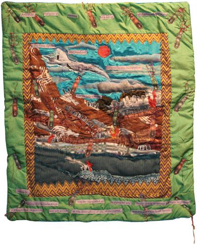 GLQC Exhibits - Quilts and Human Rights 4