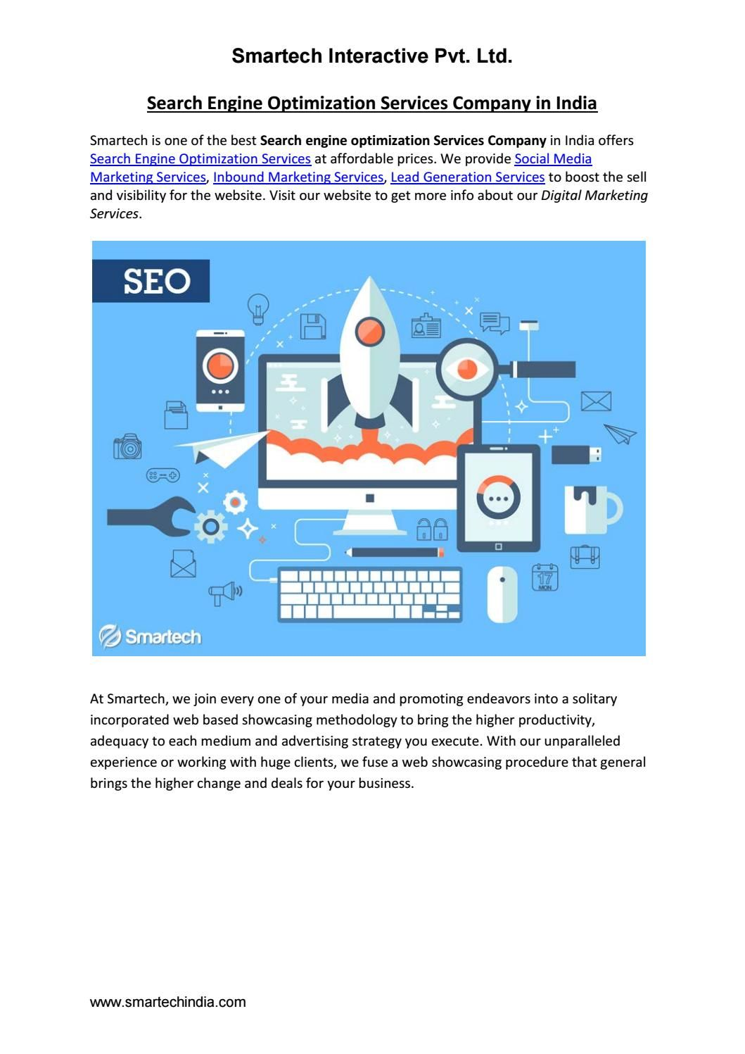 Search Engine Optimization Services Company in India in 2019