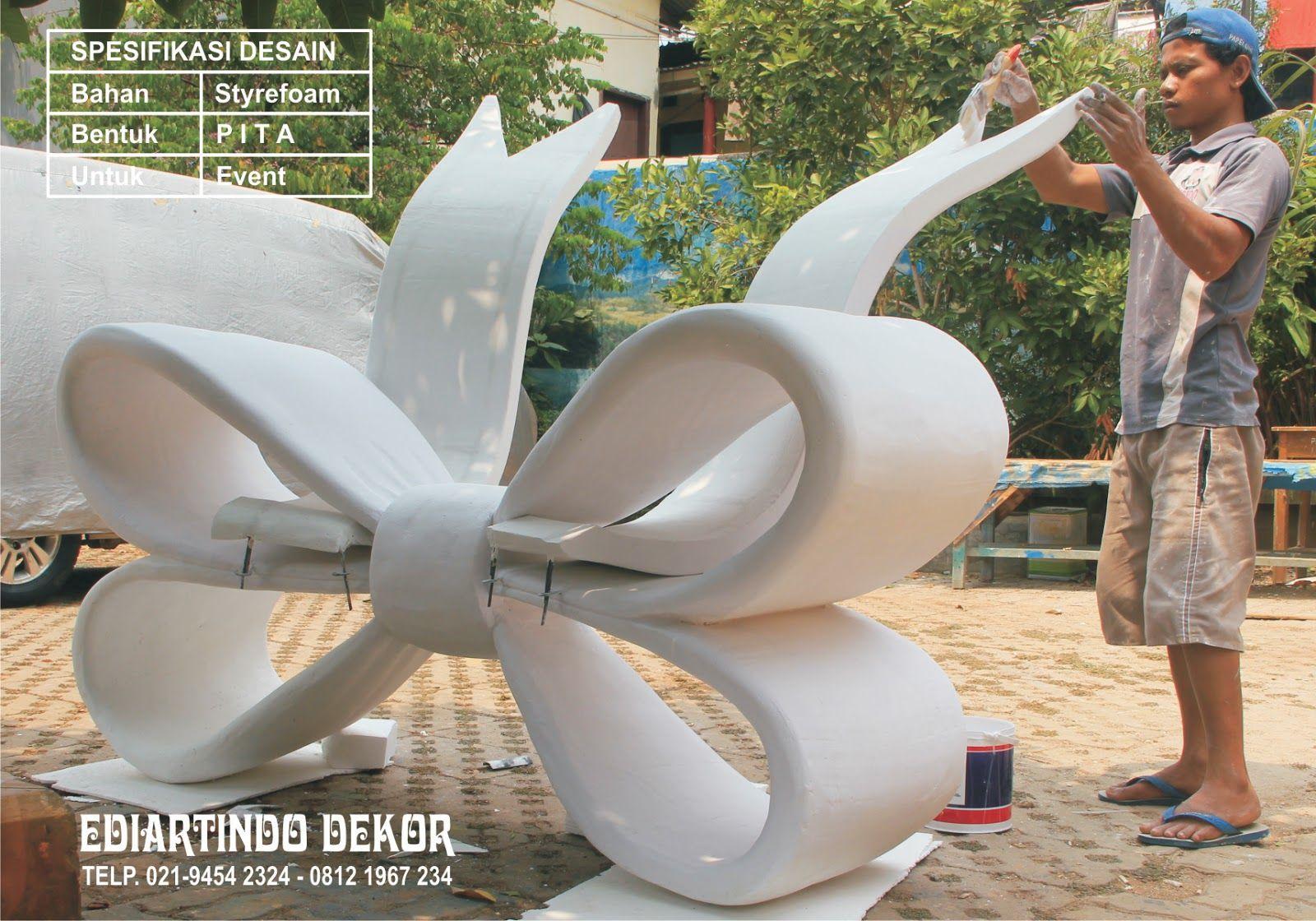 dESAIN pita styrofoam Desain, Patung, Dekorasi
