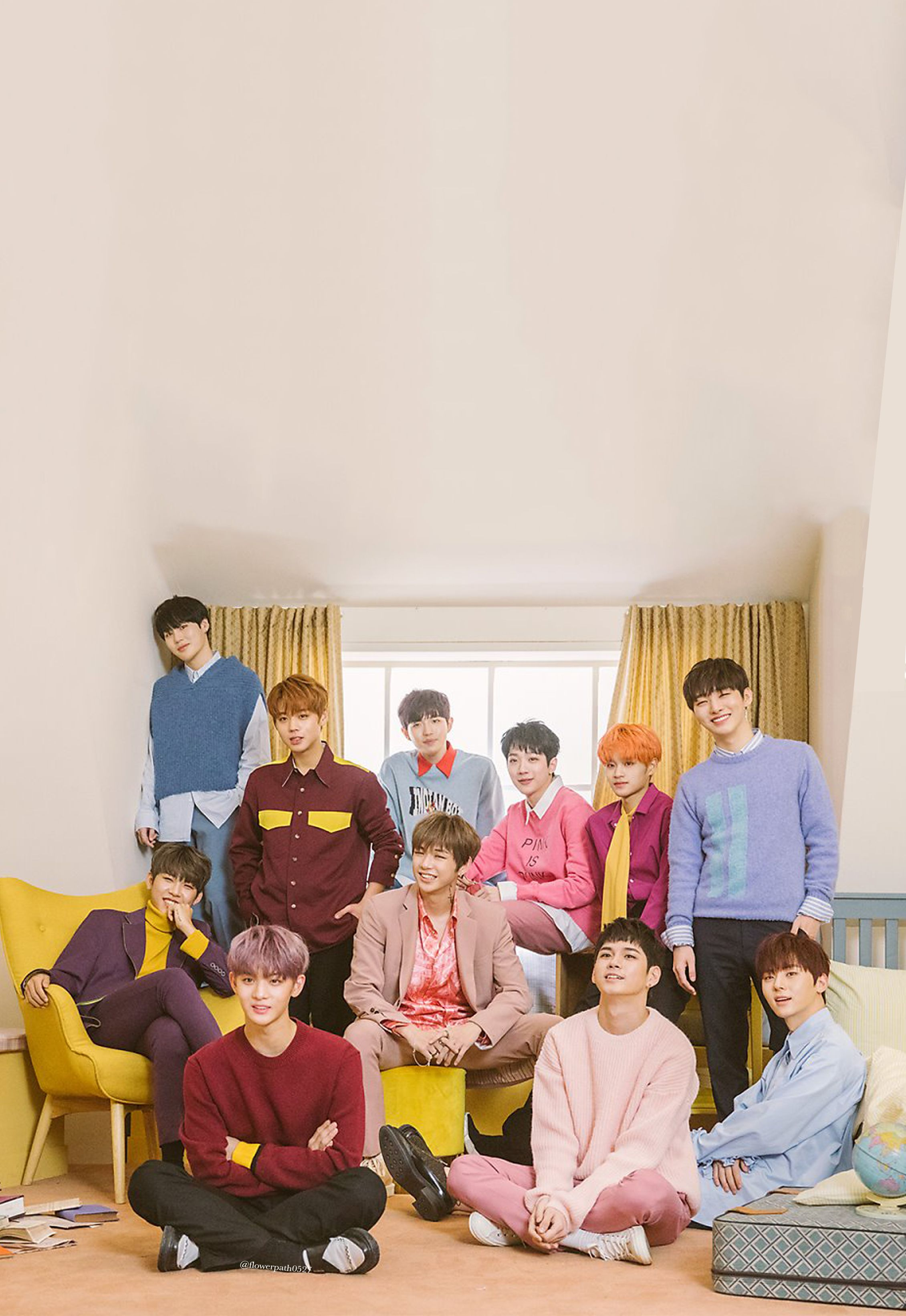 Wanna One 011 I Promise You Wallpaper Wanna One